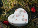 Paper Heart Urn
