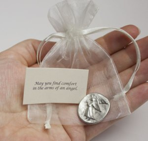 Angel Pocket Pewter Charm