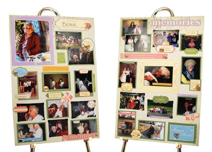 Memory Boards For Funerals Next Gen Memorials
