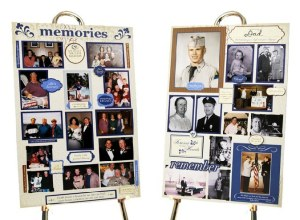 Memorial board for men, father, grandfather, son