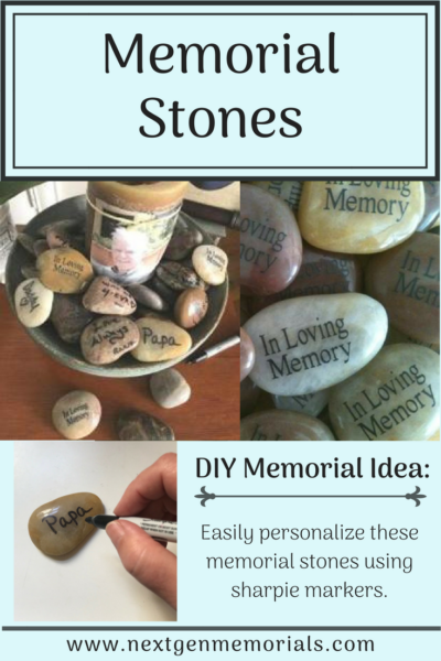 Memory Stones that you write on