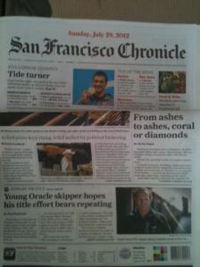 Next Gen Memorials in San Francisco Chronicle Creative Funerals