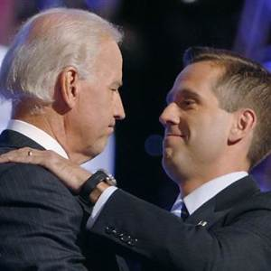 Beau and his father Joe Biden