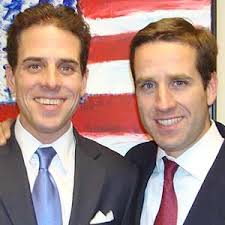 Beau and Hunter Biden