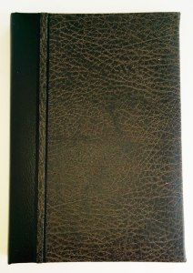 Rugged brown register book