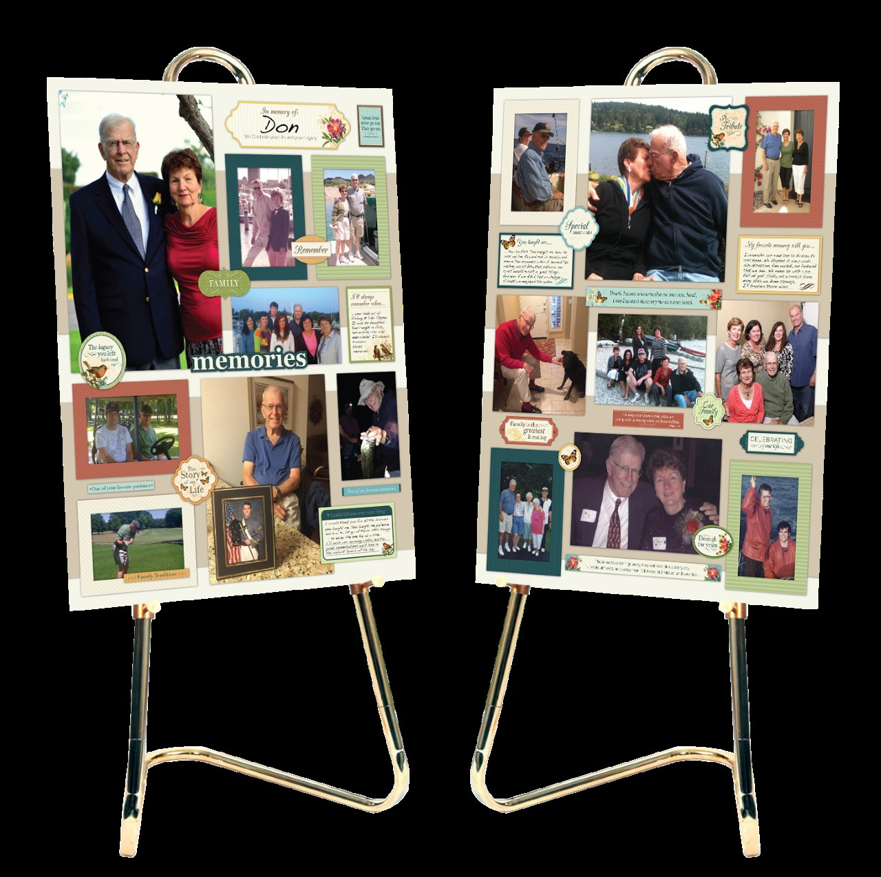 Hamilton Funeral and Cremation Services - Arbor Memorial Photo boards for funerals