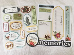 memory board stickers